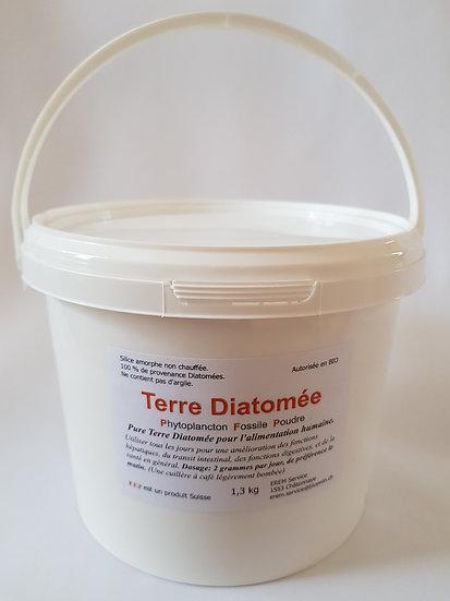 Terre de Diatomée 1.3 kg. pour alimentation humaine