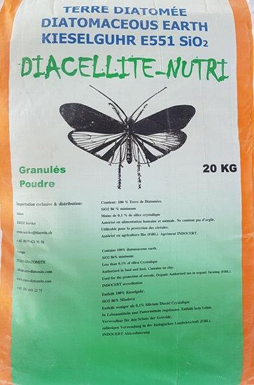 Diacellite Nutri 20 kg. pour animaux, jardin, céréales
