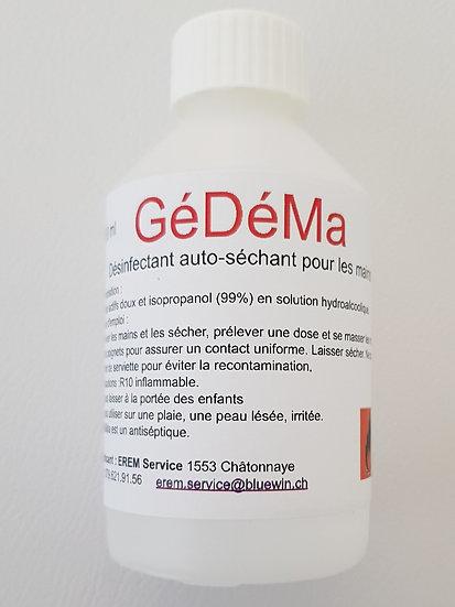 GéDéMa. Désinfectant pour les mains 250 ml.