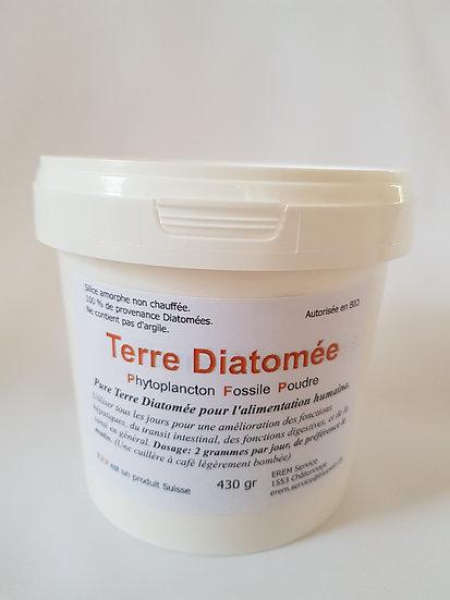 Terre de Diatomée 430 gr. pour alimentation humaine
