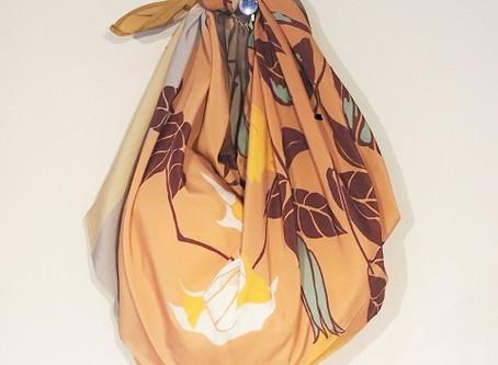 【風呂敷を使おう】その2 ショッピングバッグ