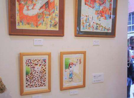 前川しんすけさんの作品を展示しています!