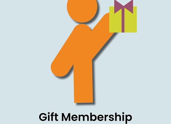 Gift Membership - Individual