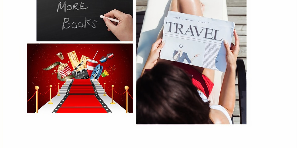 Planning for Book, Movie and Travel Clubs
