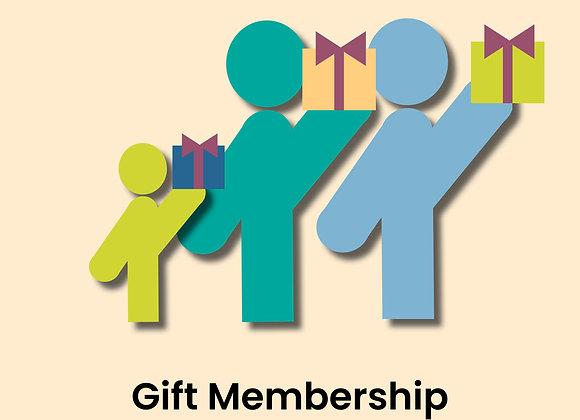 Gift Membership - Household