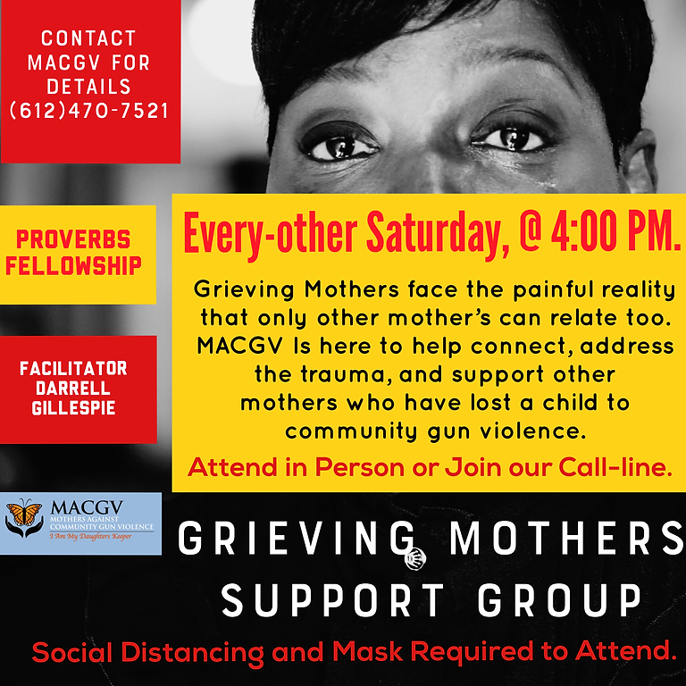 MACGV Grieving Mothers Support Group