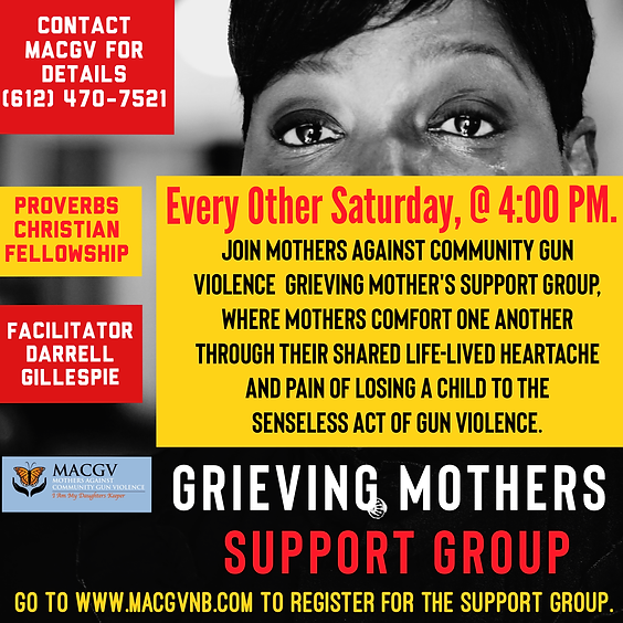 Grieving Mothers Support Group