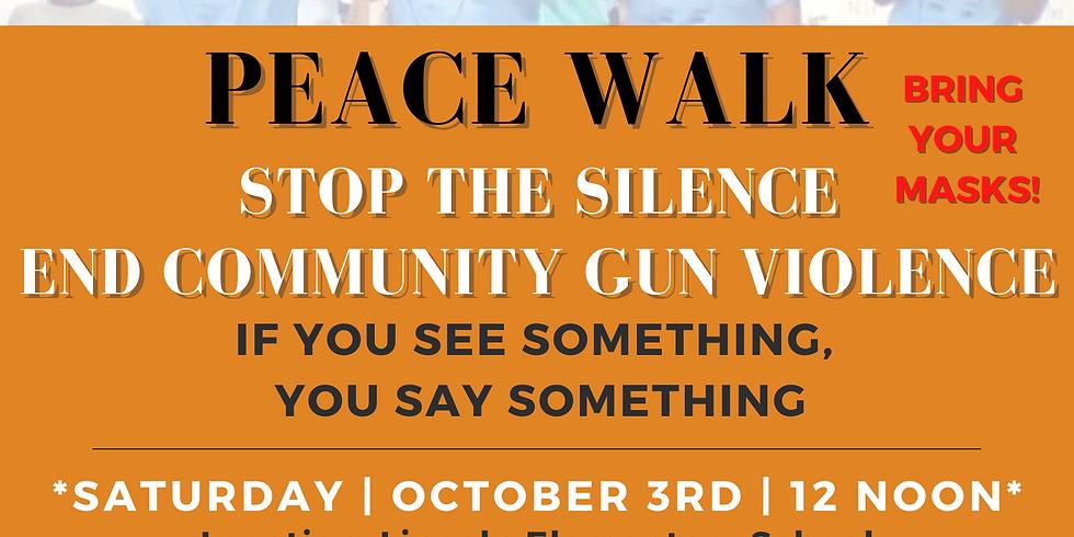 October 3, 2020 MACGV Peace Walk