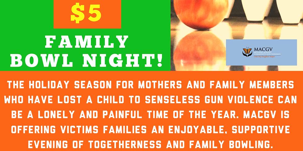 Honoring Our Children Family Bowl Night.