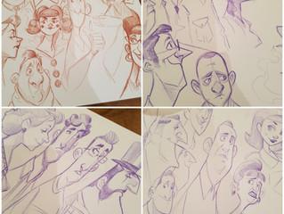 Train Sketches!