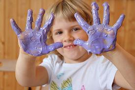neogruen-zertifizierte Bio-Fingerfarben