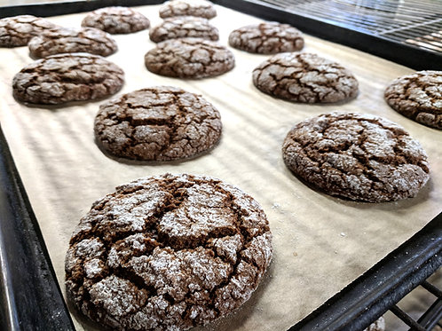 Ginger Molasses (two big cookies)