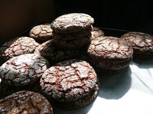 Ginger Molasses (two big cookies)
