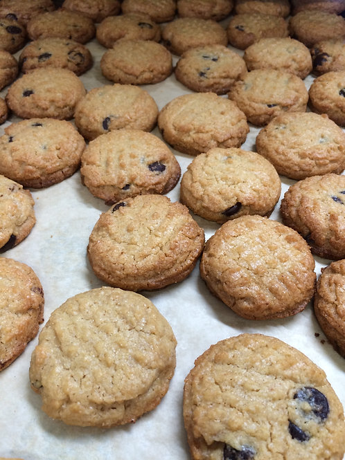 Peanut Butter Chocolate Chip (six cookies)