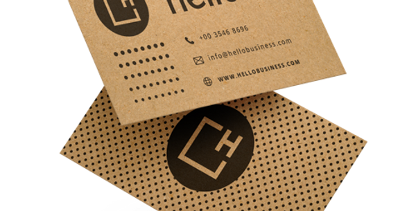 Recycled Business Cards - 300gsm