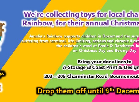 Coast Print & Design teams up with local storage provider for charity Toy Appeal