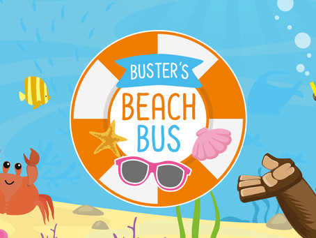 Yellow Buses announces Buster's Beach Bus is back this Easter!