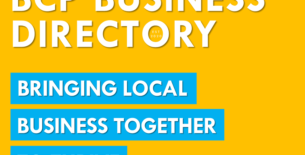 BCP Business Directory - 12 months subscription
