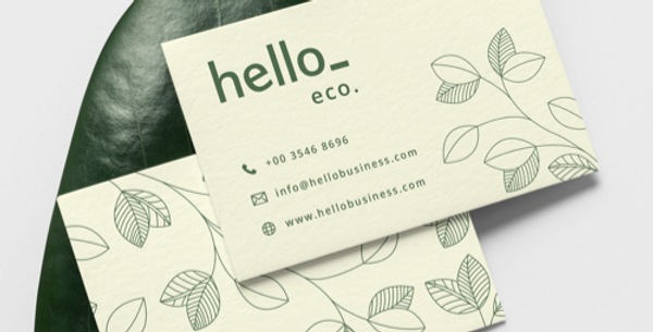 Recycled Eco Friendly Business Cards - 300gsm