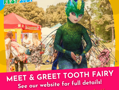 Meet & Greet Tooth Fairy from Rise of The Guardians