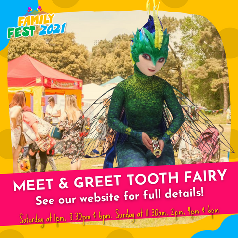 Meet & Greet Tooth Fairy