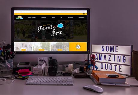 Family Fest - Web Design