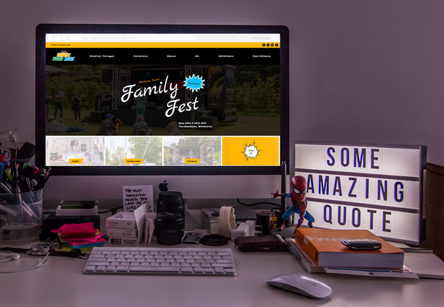 Family Fest - Web Design