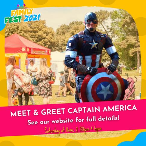 Meet & Greet Captain America