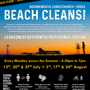 Keeping the coasts clean in partnership with Leave Only Footprints