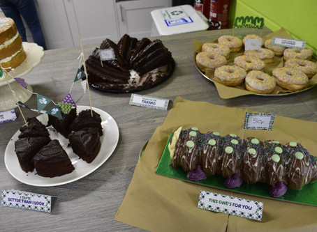 Our 'World's Biggest Coffee Morning' event is a success
