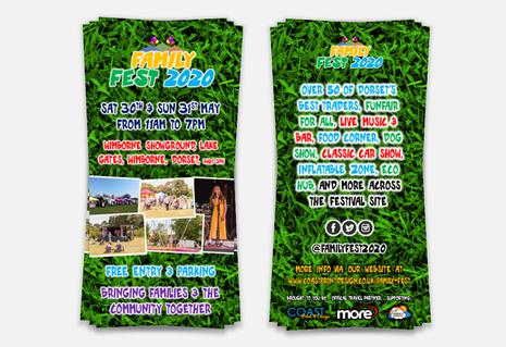 Family Fest 2020 - DL Flyer