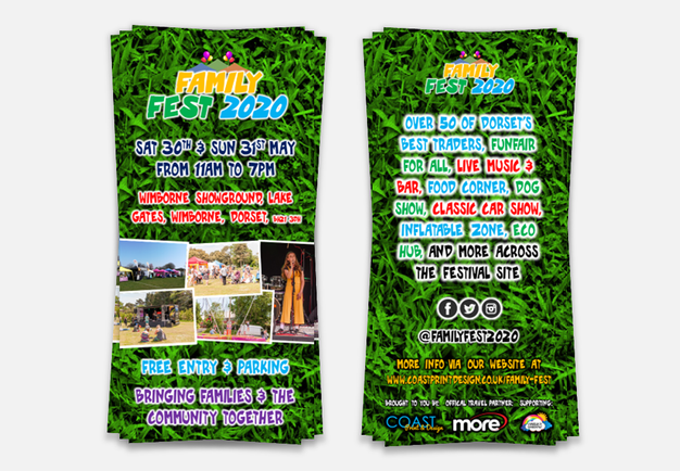 Family Fest 2020 - DL Flyer