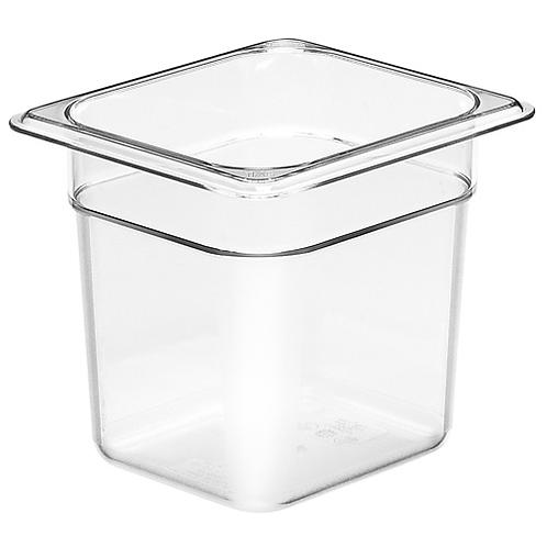"""Clear Plastic Insert 1/6 x 6""""D"""