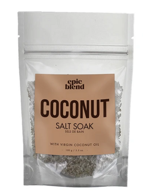 Coconut Salt Soak