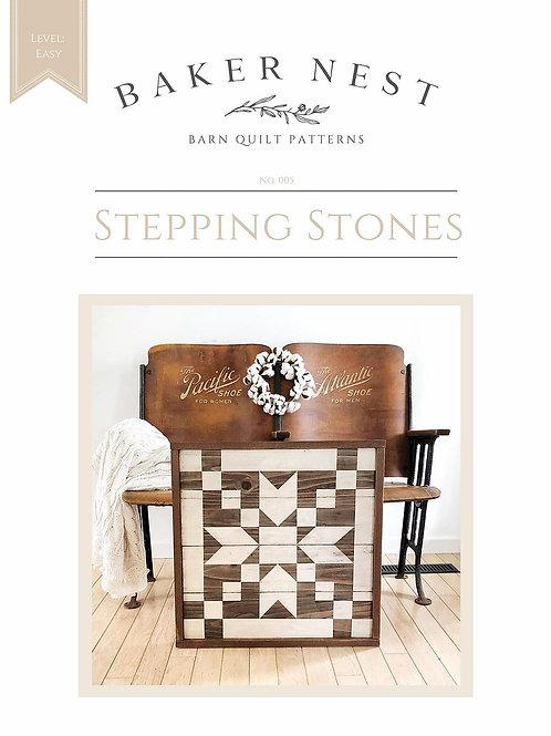 Stepping Stones Barn Quilt Pattern DIY KIT
