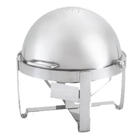 Roll-Top Round 6qt Chafer
