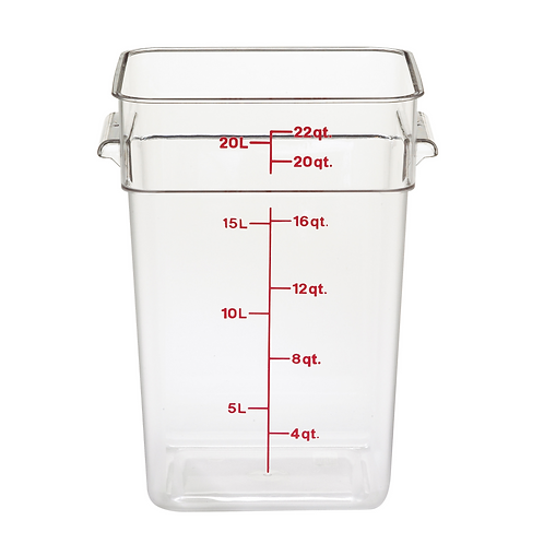 CamSquare™ Food Container, 22qt