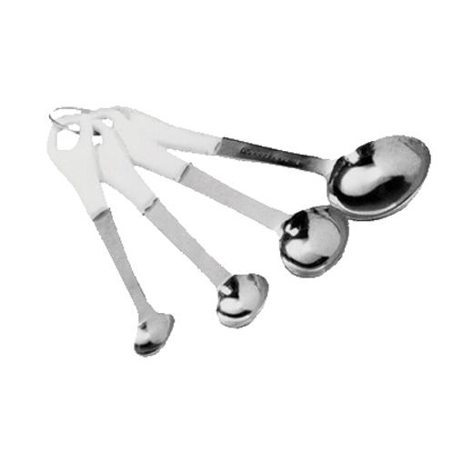 Measuring Spoon Set, w/ Plastic Sleeve