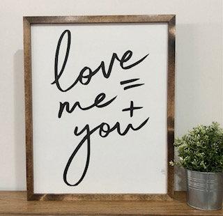 Love = Me + You