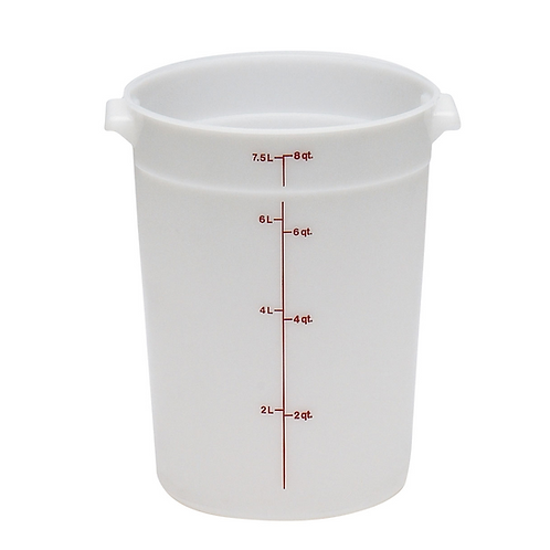 Round Food Container, 8qt