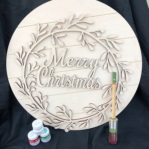 Merry Christmas DIY Kit