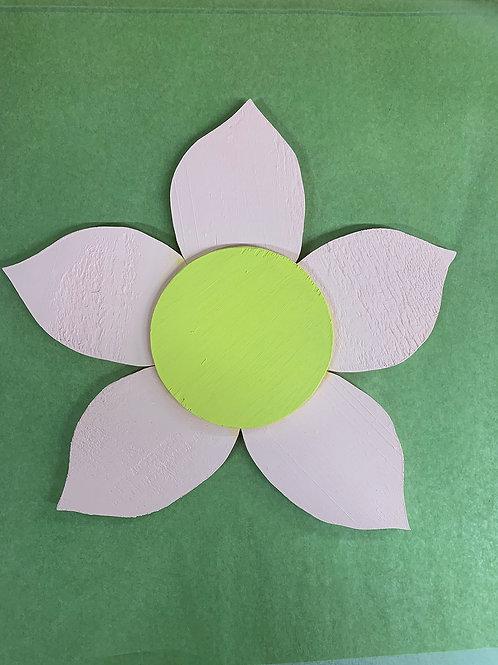 DIY Wooden Flower