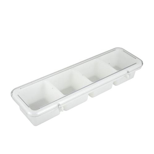 Condiment Holder, 4-Compartment