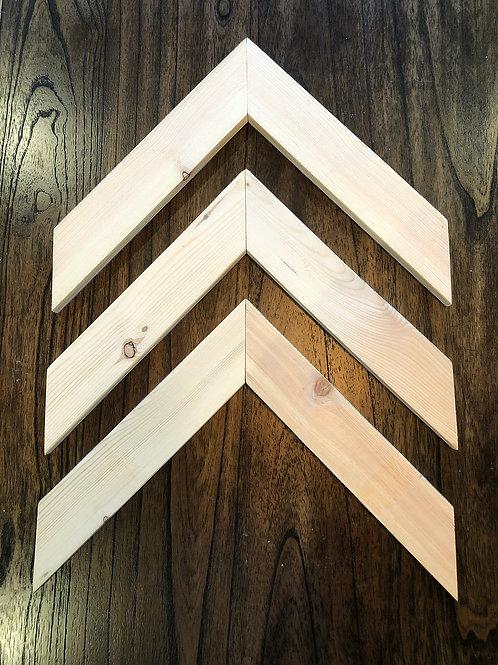 Wooden Arrows - Set of 3