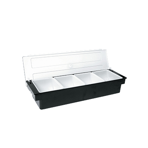 Condiment Holder, 4-Compartment
