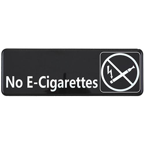 """""""No E-Cigarettes"""" Sign"""