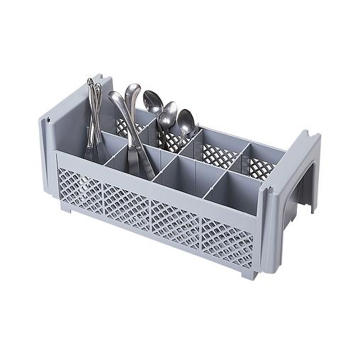 Flatware Basket, 8 Compartment