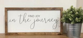 Joy in the Journey