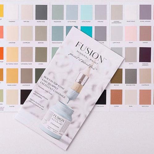 Fusion Colour Card