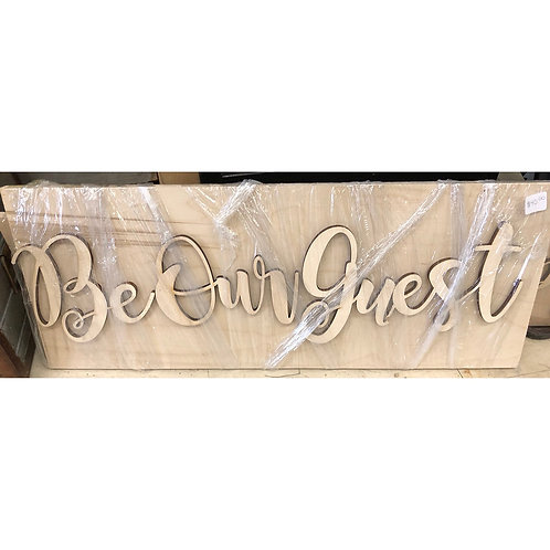 DIY - Be Our Guest
